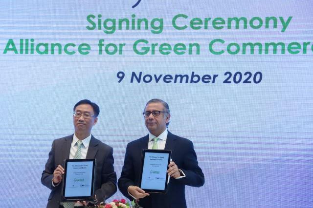 金管局冀6個月內編製綠色金融監管框架